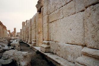 Vorschaubild Palmyra, Theater, Bühnenwand