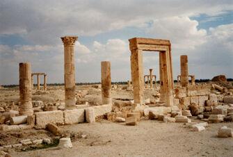 Vorschaubild Palmyra, Tempel der Allat
