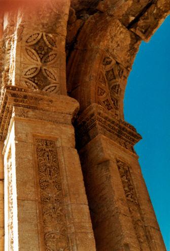 Vorschaubild Palmyra, Hadriansbogen (Detail)