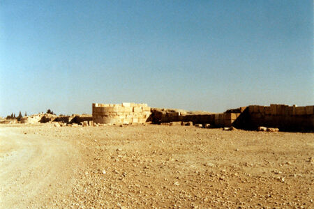 translation missing: de.preview Palmyra, Justinianische Stadtmauer im Norden