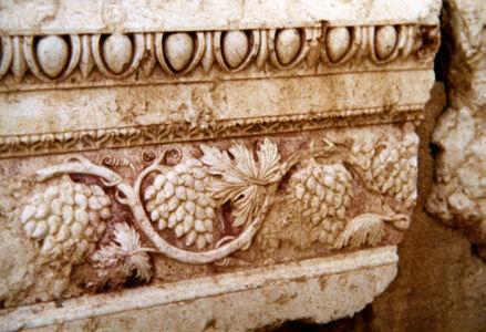 translation missing: de.preview Palmyra, Baaltempel, Traubenfries