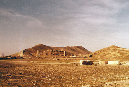 translation missing: de.preview Palmyra, Nekropole mit Turmgräbern