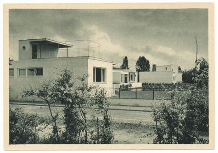 translation missing: de.preview Einfamilienhäuser. Werkbund-Ausstellung Wohnung und Werkraum 1929 in Breslau (Postkarte Eigentum Kurt Wilhelm-Kästner)