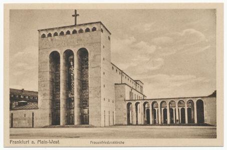 translation missing: de.preview Frauenfriedenskirche (Postkarte Eigentum Kurt Wilhelm-Kästner)