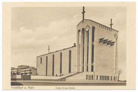 translation missing: de.preview Heilig Kreuz-Kirche (Postkarte Eigentum Kurt Wilhelm-Kästner)