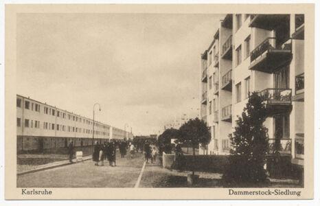 translation missing: de.preview Dammerstock-Siedlung (Postkarte Eigentum Kurt Wilhelm-Kästner)