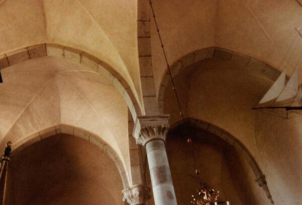 Vorschaubild Pfarrkirche, Langhaus Richtung Westen