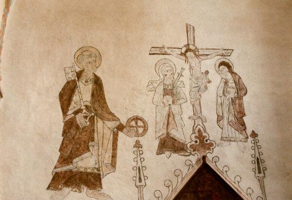 Vorschaubild Pfarrkirche, Kreuzigung