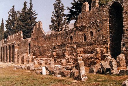 preview (Zisterzienser-) Kloster, Außenmauer