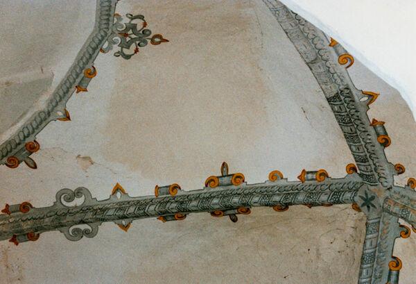 Vorschaubild Kloster Arendsee, Kirche, Gewölbeausmalung (Foto 1990)