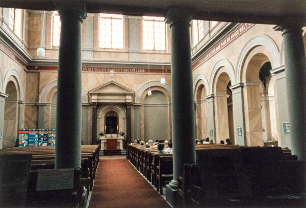 Vorschaubild Schlosskirche, Inneres (Foto 1987)