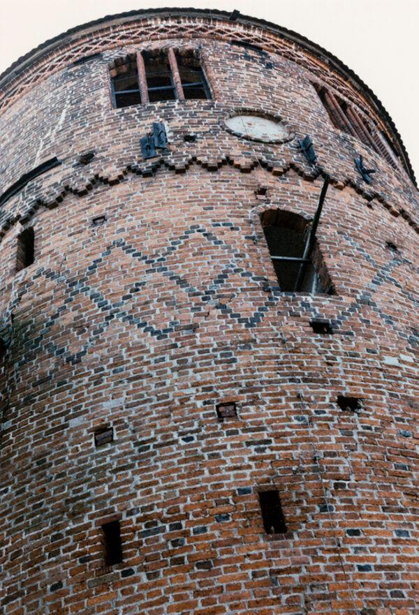 Vorschaubild Burg, Bergfried, hofseite (Foto1990)