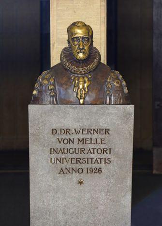 Vorschaubild Büste Werner von Melle