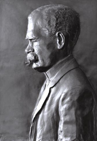 Vorschaubild Bildnisplakette Eduard Zacharias