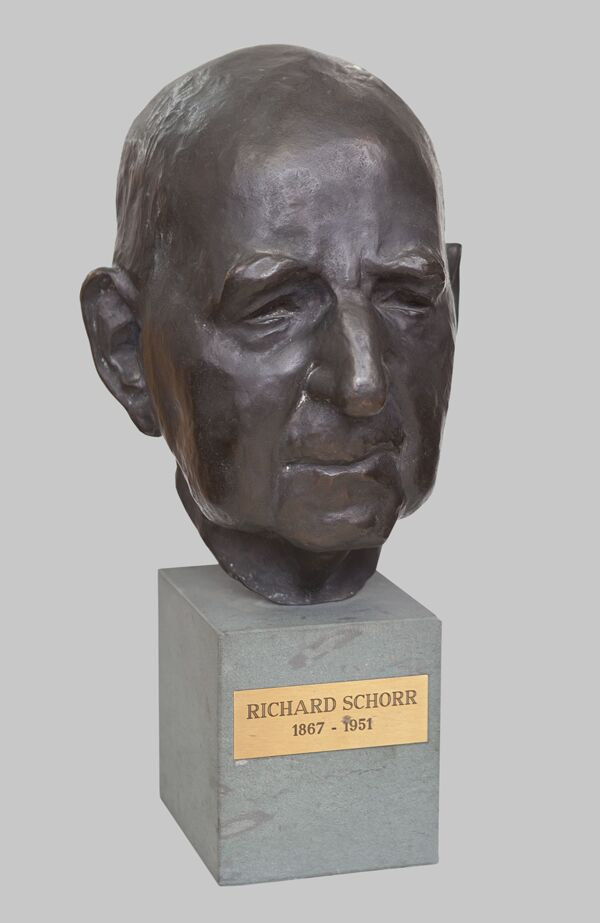 Vorschaubild Büste Richard Schorr